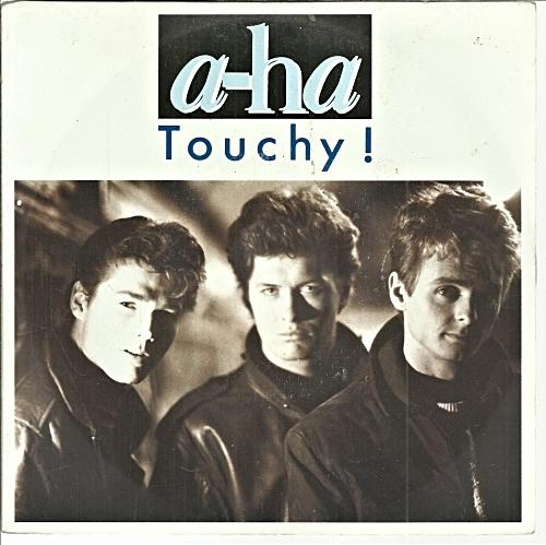 AUG 28 - A-HA - TOUCHY - the synthpop trio's 1988 hit single.