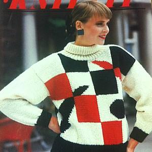 80s Pattern Sweater