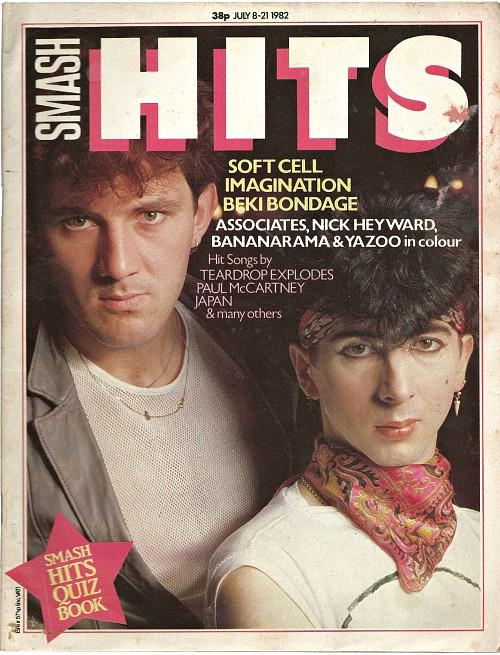 Smash Hits magazine July 1982 ft. Soft Cell
