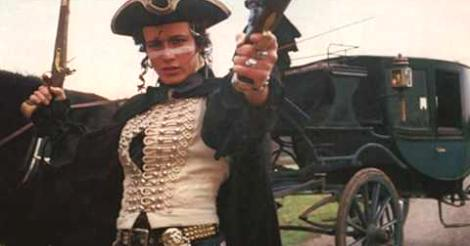 Adam Ant Stand and Deliver video screenshot