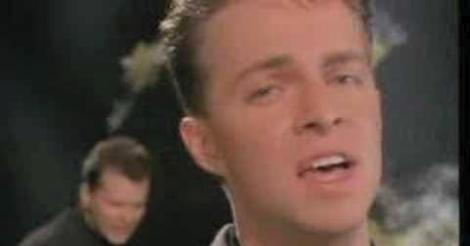 Johnny Hates Jazz Shattered Dreams video screen grab
