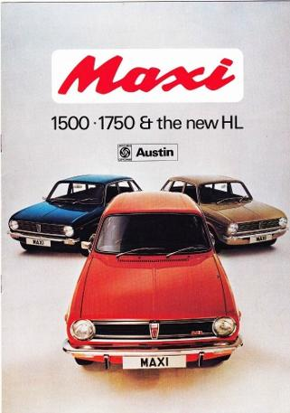Austin Maxi brochure from 1973