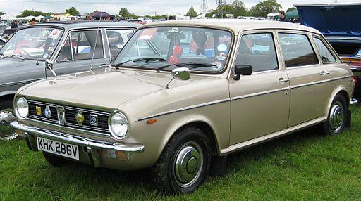 Austin Maxi 1750 HLS at Battlesbridge Classic Car Show
