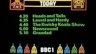 BBC Childrens TV preview listing from early 80s