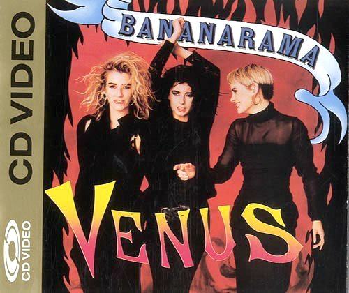 Bananarama Venus - rare CD Video