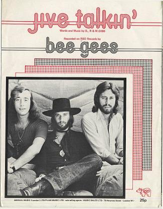 Bee Gees - Jive Talkin' (1975) sheet music