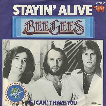 Bee Gees - Stayin' Alive (1977) single