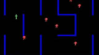 Arcade version of Berzerk