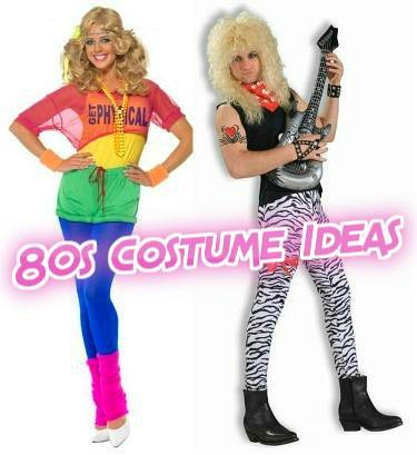 Best 80s Themed Costumes At Simplyeighties