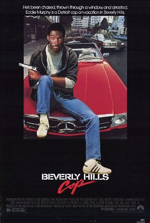 Beverly Hills Cop movie poster from 1984