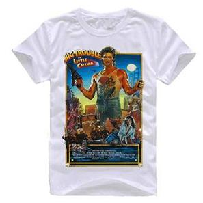 Big Trouble in Little China 80s Movie T-shirt