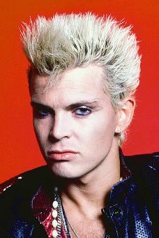 Billy Idol in the 80s - Poster Print