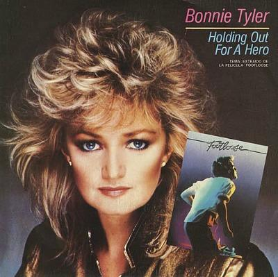 SEPT 10 - BONNIE TYLER - Holding Out for a Hero - the No.2 hit from 1985.