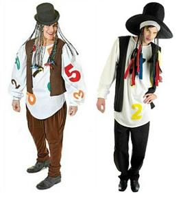 Boy George Fancy Dress Costumes