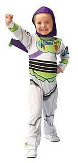 Boys/Kids Toy Story Buzz Lightyear Costume