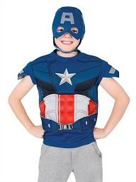 Boys Captain America Dress-Up Set