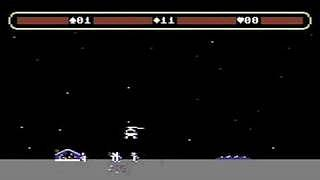 Choplifter! C64 screen grab