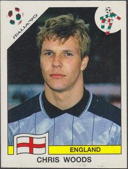 Chris Woods - Italia 90 Panini sticker