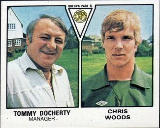 Chris Woods and Tommy Docherty - Queens Park Rangers