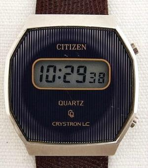 Citizen Crystron LC wrist watch (1984)