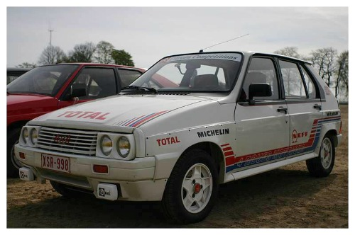 Citroen Visa rally car