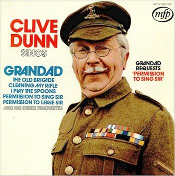 Grandad Requests Permission To Sing Sir - 1971 12 track LP
