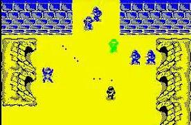 Commando ZX Spectrum screen grab