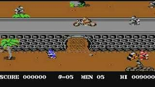 Commando C64 screenshot