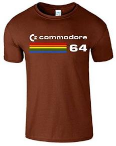 Commdore C64 80s Retro Gaming T-shirt