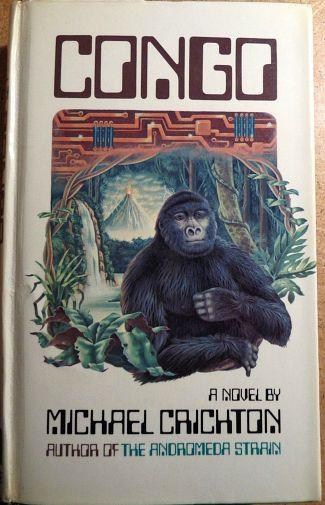 Congo by Michael Crichton (Penguin 1981)