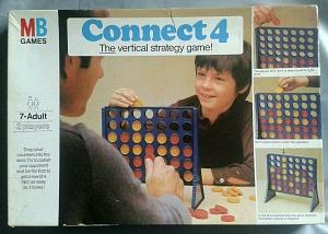 1976 Connetc 4 Game by MB Games