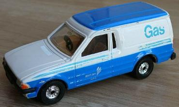 Corgi British Gas Van Toy 1980s