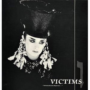 Culture Club - Victims (Vinyl Sleeve ft. Boy George)