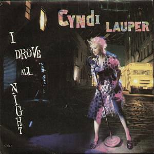 Cyndi Lauper - I Drove All Night