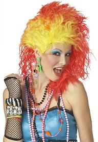 80s Accessories - Cyndi Lauper True Colors Wig