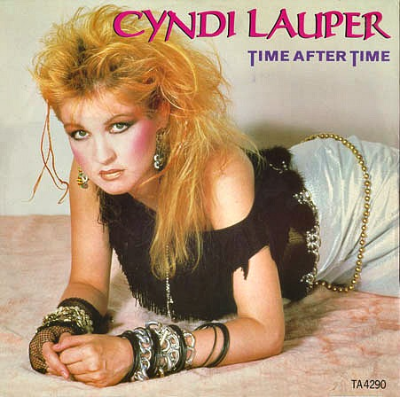 Cyndi Lauper - Time After Time (single cover)