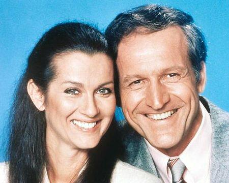 Daniel J Travanti and Veronica Hamel