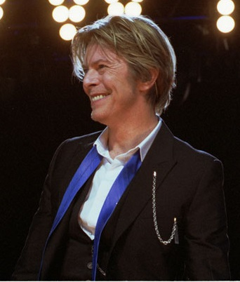 David Bowie in 2002