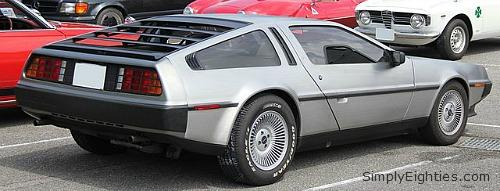 DeLorean DMC-12 rear view