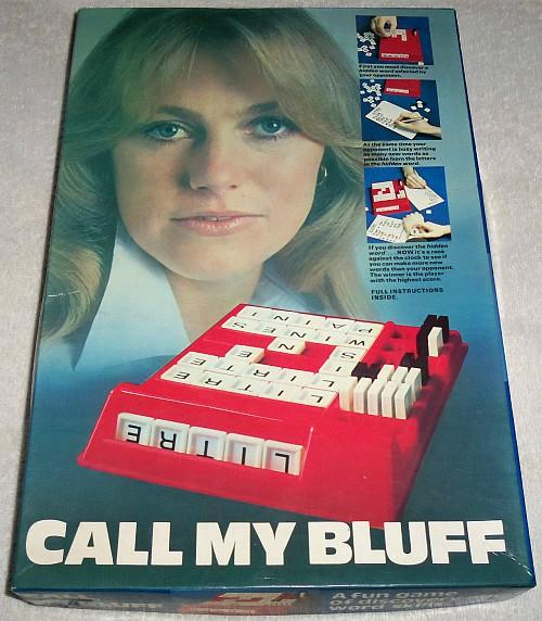 Call My Bluff Board Game (boxed)
