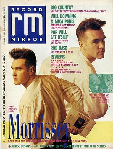 Record Mirror Feb 11 1989 ft. Morrissey