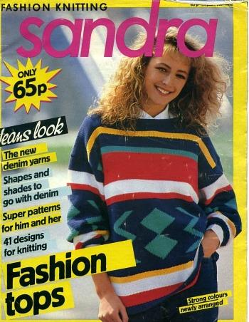 Sandra Knitting Magazine 1986