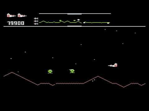 Defender Atari 800 Screenshot
