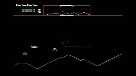 Defender C64 Screenshot