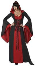 Deluxe Hooded Red Robe