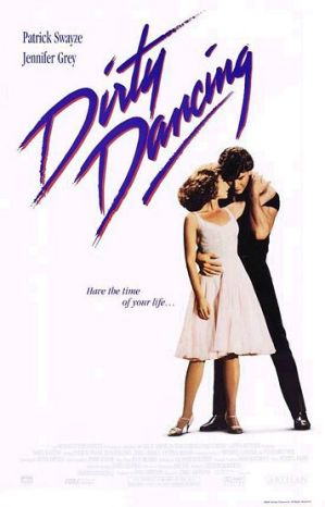 Dirty Dancing Movie Poster from the 80s