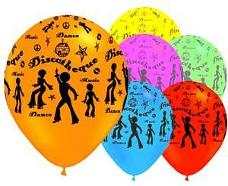 70s Disco Party Balloons