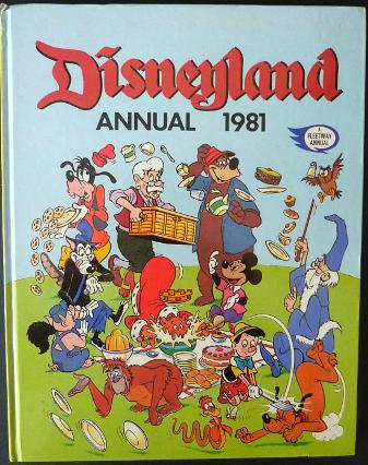 Disneyland Annual 1981 by IPC/Fleetway
