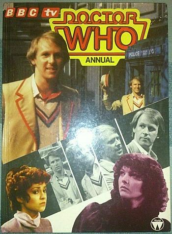 Doctor Who Annual 1982 ft. Peter Davison as the fifth doctor
