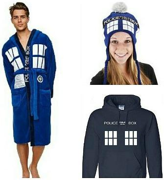 Doctor Who clothing gifts